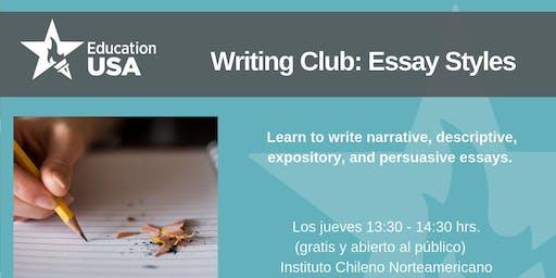 Writing Club Octubre