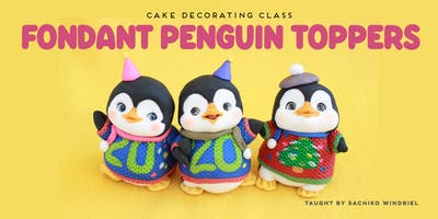 Figure Modeling with Fondant - Winter Penguin Toppers