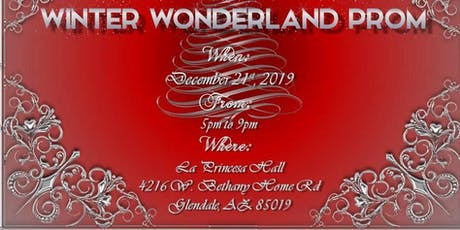 Winter Wonderland Prom 2019 tickets