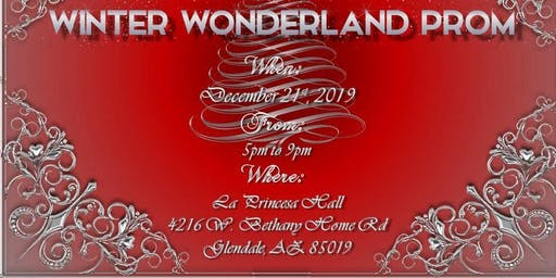 Winter Wonderland Prom 2019