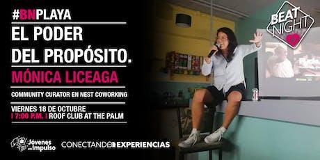 BeatNight Playa con Mónica Liceaga boletos
