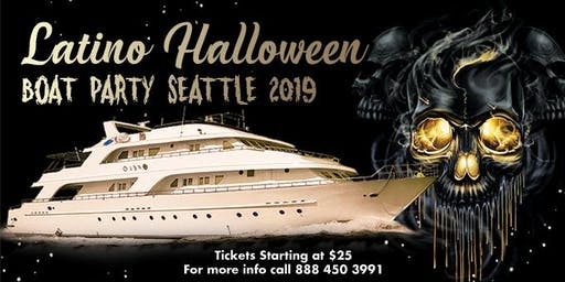 Latino Halloween Boat Party Seattle 2019