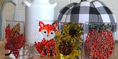 Fall Glass Fusing Lumineria Workshop