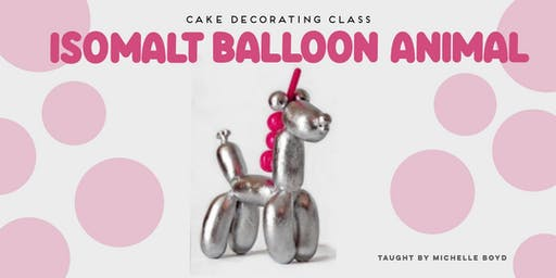 Blown Sugar Workshop - Isomalt Balloon-icorn