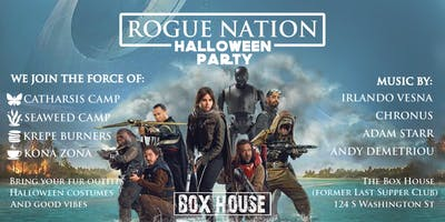 Rogue Nation Halloween