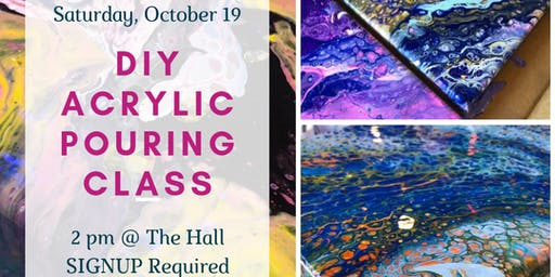 ColorHype  DIY Acrylic Pouring Workshop
