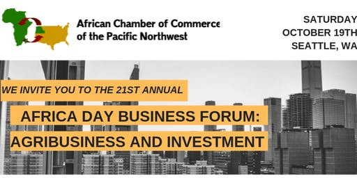 21st Annual Africa Day Business Forum