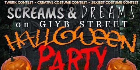 Screams And Dreams On GIYB STREET tickets