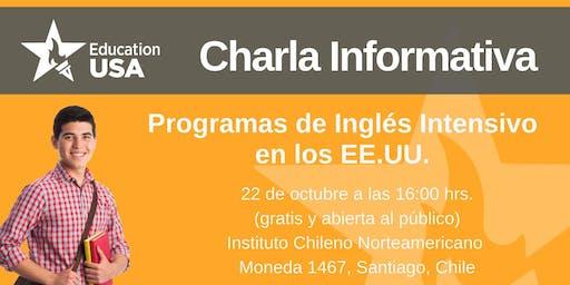 Charla de Programas Inglés Intensivo Octubre 2019