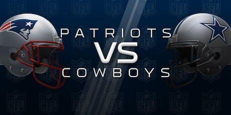 Cowboys vs Patriots Watch Party | 11.24 tickets
