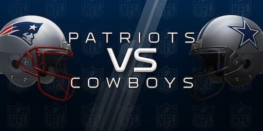 Cowboys vs Patriots Watch Party | 11.24