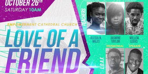Love of a Friend Conference