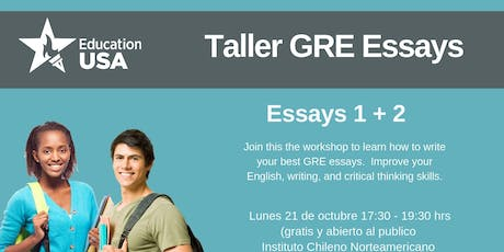 GRE Essay Workshop tickets