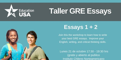 GRE Essay Workshop