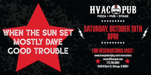 Mostly Dave and Good Trouble - LIVE at HVAC Pub!