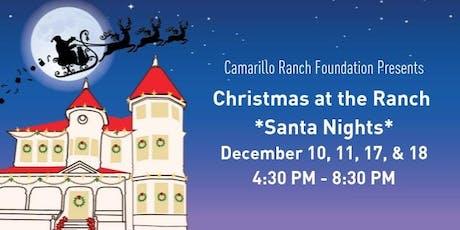 Christmas At The Ranch *Santa Nights* tickets