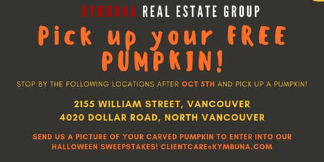 Halloween Pumpkin Giveaway tickets