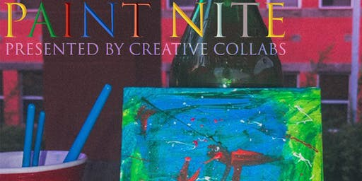 Creative Collabs presents : Paint Nite