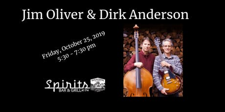 Jim Oliver & Dirk Anderson tickets