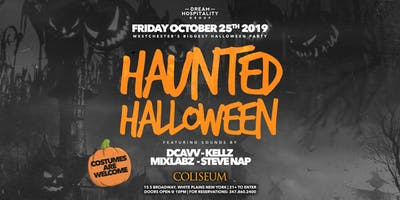 HAUNTED HALLOWEEN @ THE COLISEUM | 10.25.19