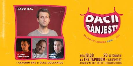 Dacii Ranjesti - Stand up Comedy Romanesc - 20 Oct tickets
