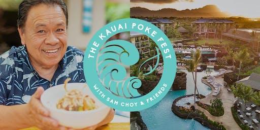 Kauai Poke Fest with Sam Choy & Friends