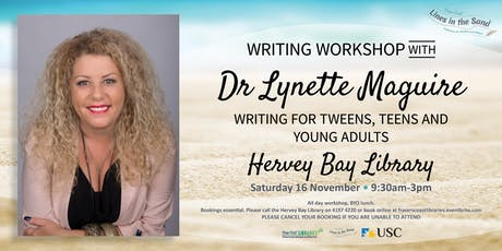 Writing Workshop with Dr Lynette Maguire - Hervey Bay Library tickets