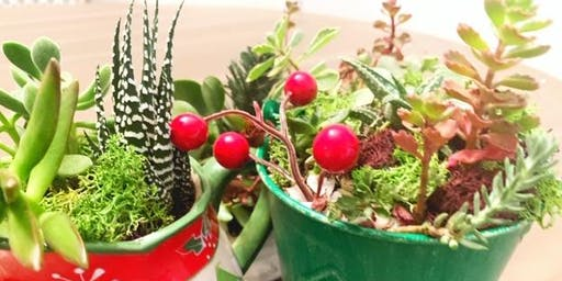 Holiday Sip & Succulents at The Inn