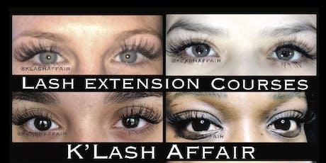 Dallas Lash Extension Course tickets