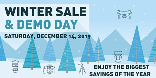 Winter Sale and Demo Day!