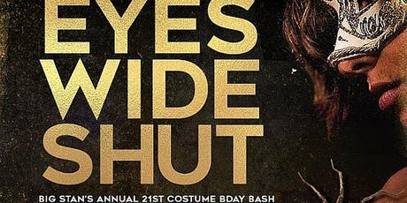 JACK DANIEL'S APPLE & JACK DANIEL'S HONEY presents... BIG STAN'S ANNUAL EYES WIDE SHUT HALLOWEEN COSTUME BALL & BIRTHDAY  BASH @ THE METROpolitan tickets