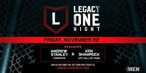 LEGACY MEN'S CONFERENCE