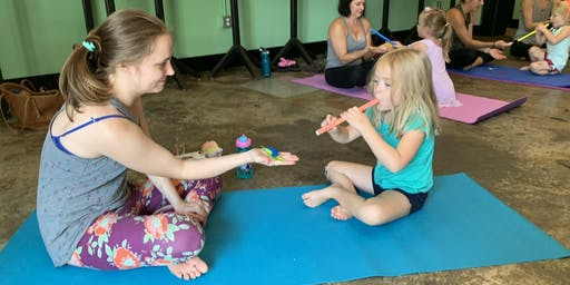 Child and Adult Yoga Class: Bond Brothers