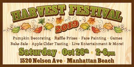 Manhattan Beach Nursery School Annual Harvest Festival 2019 tickets
