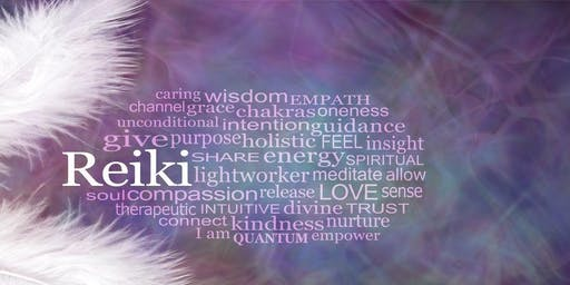 Reiki 1 Class & Certification - Including An Intro to Chakras, Auras, & Crystals