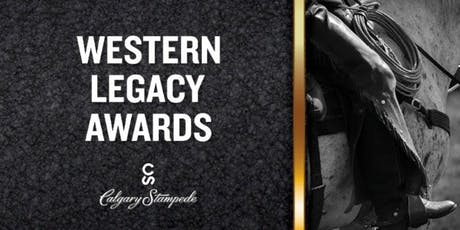 Calgary Stampede 2019 Western Legacy Awards tickets