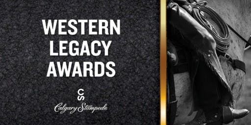 Calgary Stampede 2019 Western Legacy Awards