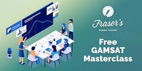 Free GAMSAT Masterclass - Canberra tickets