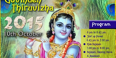 Govinden Thiruvizha tickets