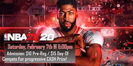 NBA 2K20 Tournament: $20 tickets