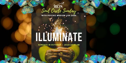 Soul Circle Sunday - Meditation Meet-up with Lisa Zara, Psychic Medium