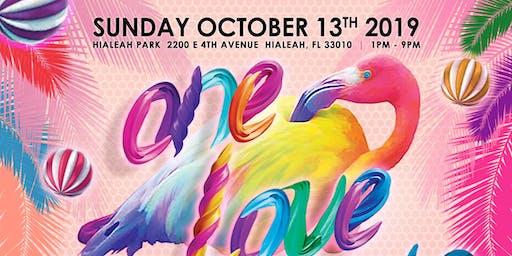 Historic LGBTQ+ festival HIALEAH PRIDE, happening at Historic Hialeah Park.