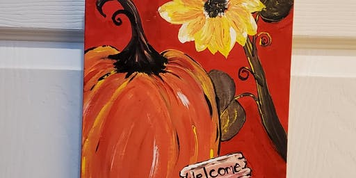 Paint & Sip, Pumpkin