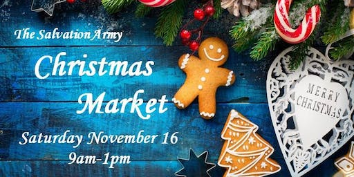 The Salvation Army Christmas Market