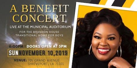 A Benefit Concert Featuring Tasha Cobbs Leonard tickets