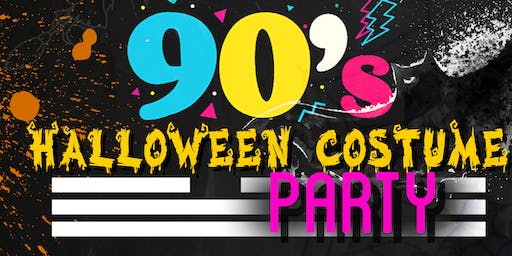 I LOVE THE 90's HALLOWEEN COSTUME PARTY!!