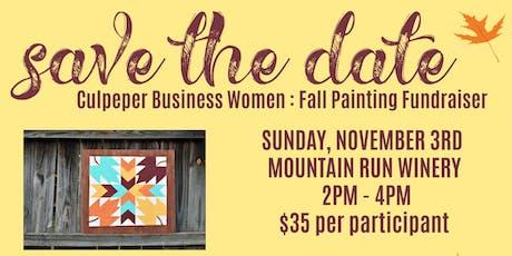 CBW Fall Painting Fundraiser tickets