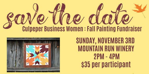 CBW Fall Painting Fundraiser
