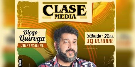 """Clase Media"" Unipersonal de Stand Up. entradas"