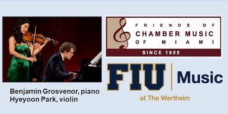 Pianist Benjamin Grosvenor with Violinist Hyeyoon Park tickets